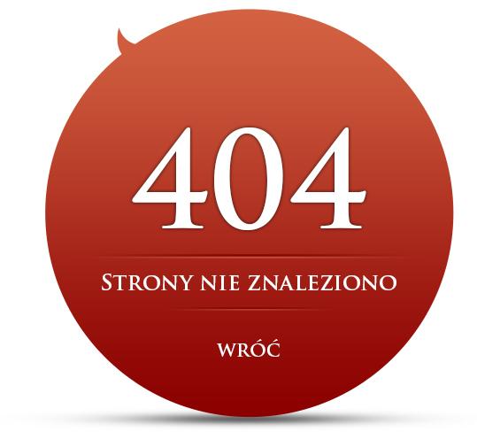 404 Błąd