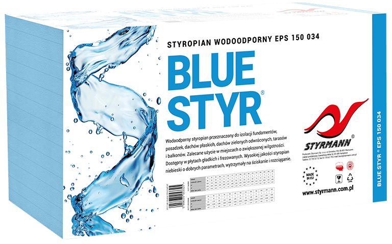 BLUE-STYR EPS 150 034