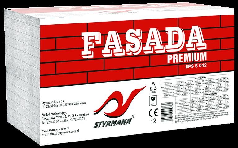 Płyty styropianowe EPS S 042 FASADA-STYR PREMIUM