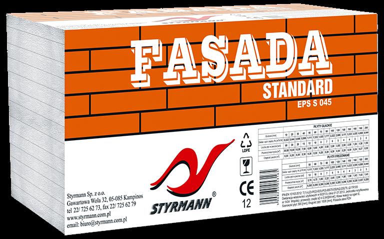 Płyty styropianowe EPS S FASADA-STYR