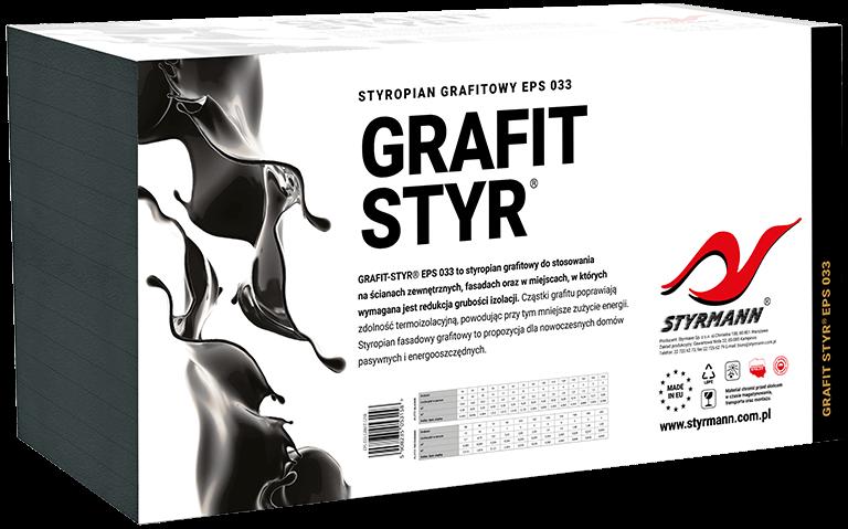 Płyty styropianowe EPS S 033 GRAFIT-STYR